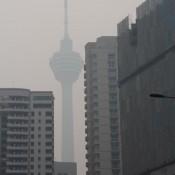 Der Kl Tower Im Smog