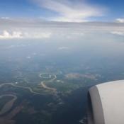 Anflug Auf Kuching