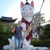 "Katzenstatue ""great Cat Of Kuching"""