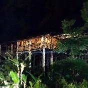 Typisches Longhouse