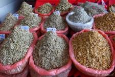 getrockneter Fisch (Auf Borneo – In der Katzenstadt Kuching)