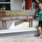 Ankunft Am Flughafen In Mulu
