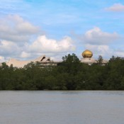 Die Dächer Vom Istana Nurul Iman Palast, Der Wohnsitz Des Sultans