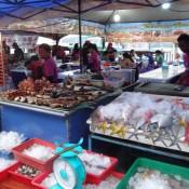 Fischlokale An Der Waterfront