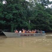 Bootstour Auf Dem Dschungelfluss