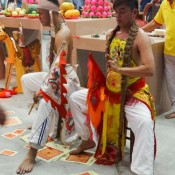 Chinesische Buddha Zeremonie