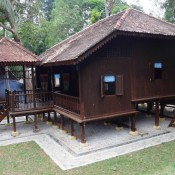 Traditionelles Malaysisches Haus