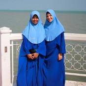 """In Der """"selat Melaka"""" Moschee"""