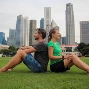 Wir In Singapur ; )