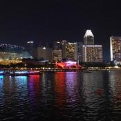 Marina Bay Bei Nacht