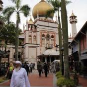 Sultan Moschee Im Arabischen Viertel