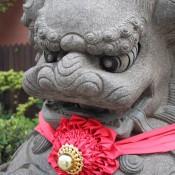 Tempel Statue