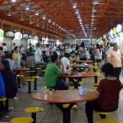 Typische Essenstände In China Town