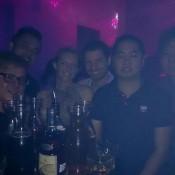 """Nachtleben In Singapur – Im """"dream Club"""" (raymond, Ran, Nicole, Seppel, Freddy, Johnson)"""