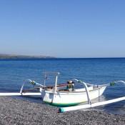 Unsere Tauchboote Am Strand Von Amed