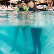 Nicole Im Pool