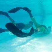 Seppel Feilt Noch An Der Schwimmtechnik