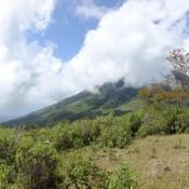 Blick Auf Die Berge Rund Um Moni