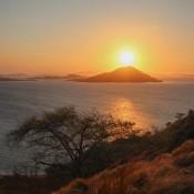 Sonnenuntergang Vom Inselberg