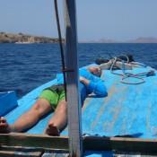 Ausruhen Auf Dem Boot