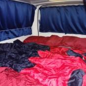 Unser Bett Im Camper