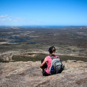 Blick Vom Frenchman Peak