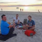 Mit Nicole Und Christian Am Glenelg Beach