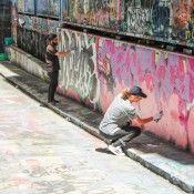 Graffiti In Der Rutledge Lane