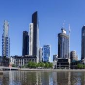 Hochhäuser An Der Southbank Promenade