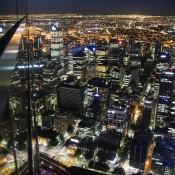 Reflexion – Melbourne Bei Nacht