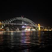 Harbour Bridge Bei Nacht