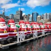 Weihnachtsstimmung Im Darling Harbour