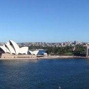 Blick Von Der Harbour Bridge