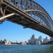 Harbour Bridge Und Opera House