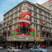 Weihnachtsstimmung In Der Stadt