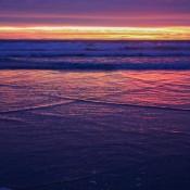 Sonnenuntergang Am Ripiro Ocean Beach
