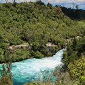 An Den Huka Wasserfällen
