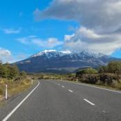 Auf Dem Weg Zum Tongariro Nationalpark