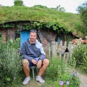 Vor Einer Hobbithöhle