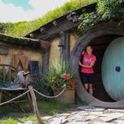 Nicole In Einer Hobbithöhle
