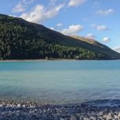 Lake Tekapo Und Mount John