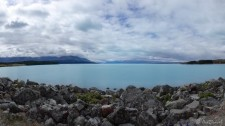 Lake Pukaki (Wandern am Mount Cook)