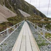 Hängebrücke Im Hooker Valley