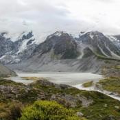 Mueller Gletscher Und Mueller See