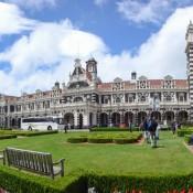 Schönes Bahnhofsgebäude In Dunedin