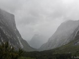 Regenwetter Am Milford Sound