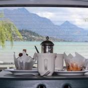 Kaffeezeit Mit Blick Auf Den Wakatipu See