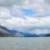 Blick Auf Den Wakatipu See