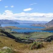 Blick Auf Den Lake Wanaka Und Die Berge Des Mount Aspiring Nationalparks