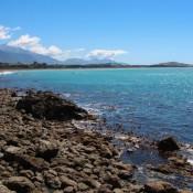 Strand In Der Nähe Von Kaikoura